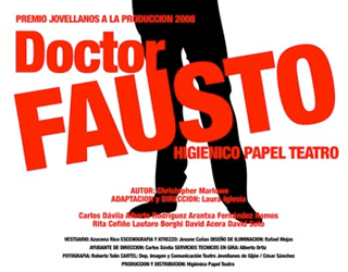 Así es 'Dr. Fausto' de Higiénico Papel
