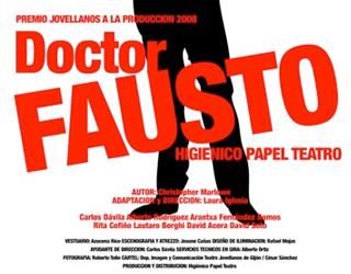 Teatro: Dr. Fausto – Higiénico Papel