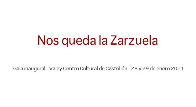 Díptico 'Nos queda la zarzuela'