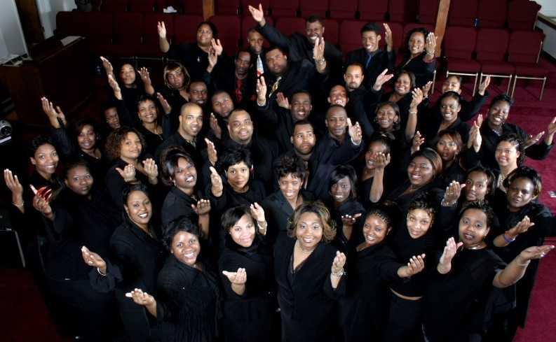 Late Show´s Gospel Choir