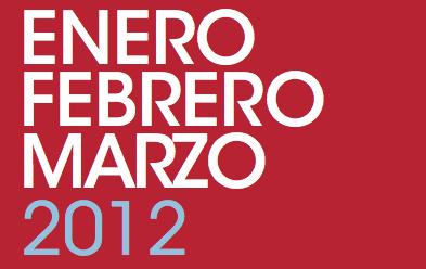 Programación Enero – Febrero – Marzo 2012