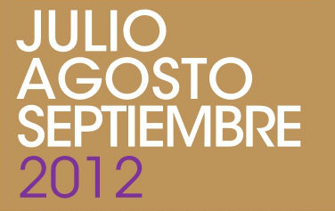 Programación Julio – Agosto – Septiembre 2012