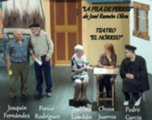 """Teatro: La pila de perras / Asociación Cultural """"El Horreo"""""""