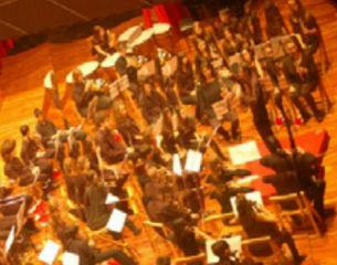 """Orquesta de viento del Conservatorio """" Julián Orbón"""" de Avilés"""