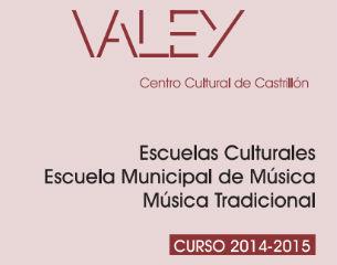 Matrícula del 11 al 22 de Septiembre de 2014, ambos inclusive en horario de 16:30 a 20:30 horas en el Valey Centro Cultural de Castrillón, Piedrasblancas