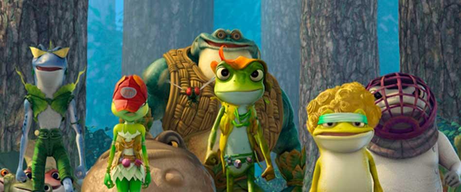 Cine en la calle: El reino de las ranas