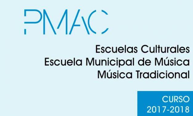 Listados provisionales de Las Escuelas Culturales, Escuela de Música y Escuela de Música Tradicional
