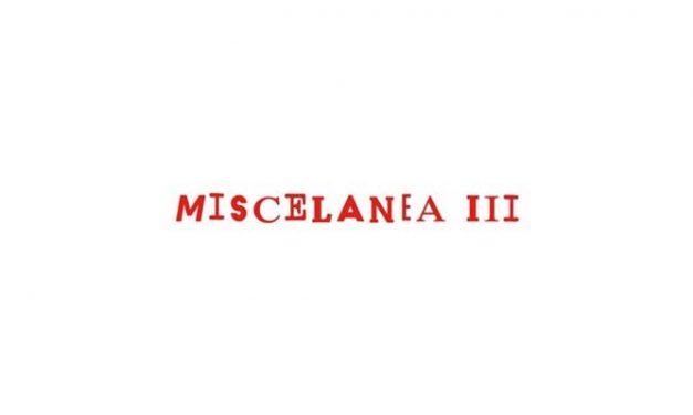 Exposición. Miscelanea III