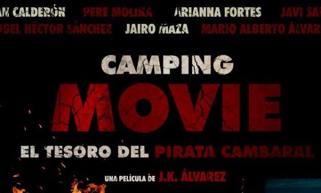 Cine. Camping Movie: el tesoro del pirata Cambaral