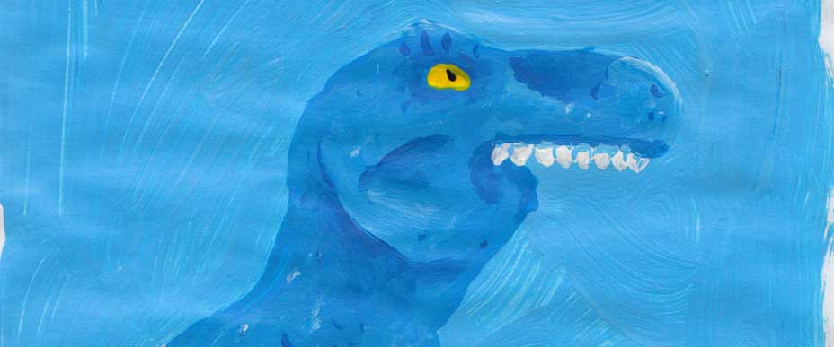 Exposición. David Fidalgo Omil: Los dinosaurios nunca se extinguieron