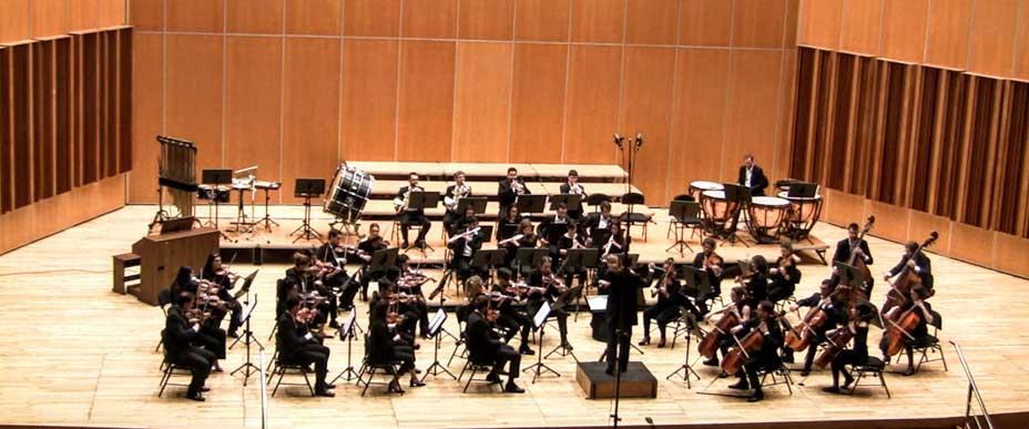 Música. Orquesta Universitaria