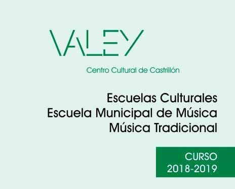 Oferta escuelas culturales 2018-2019