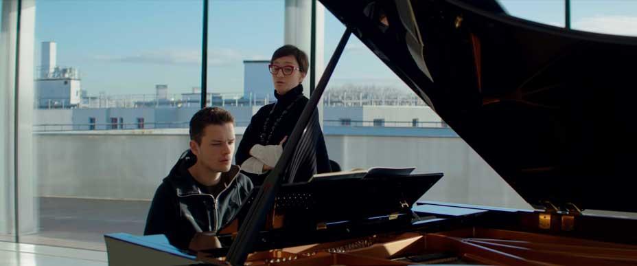 Cine. La clase de piano