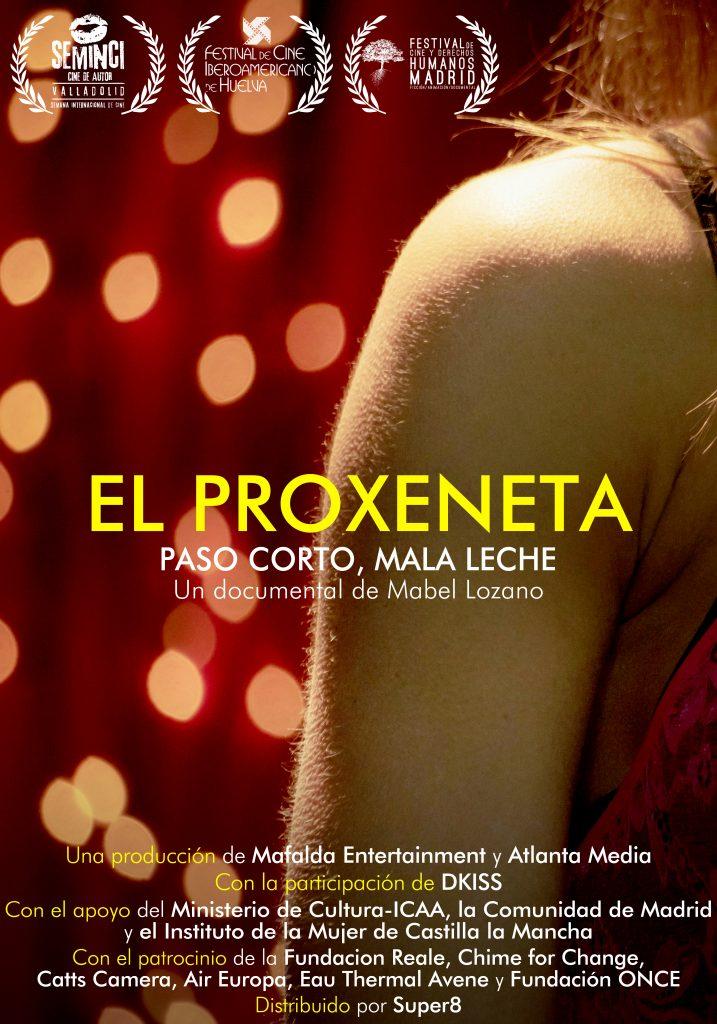 CARTEL EL PROXENETA con laureles