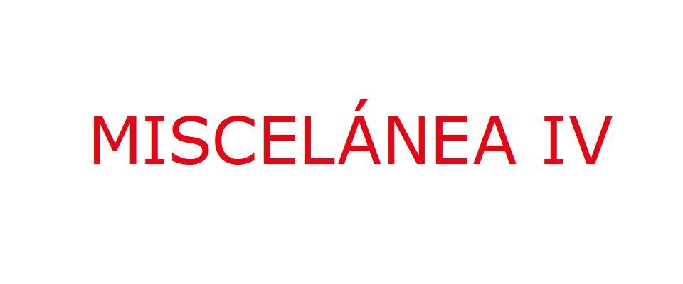 Exposición. MISCELÁNEA IV