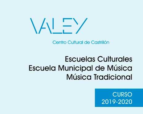 Oferta escuelas culturales 2019-2020