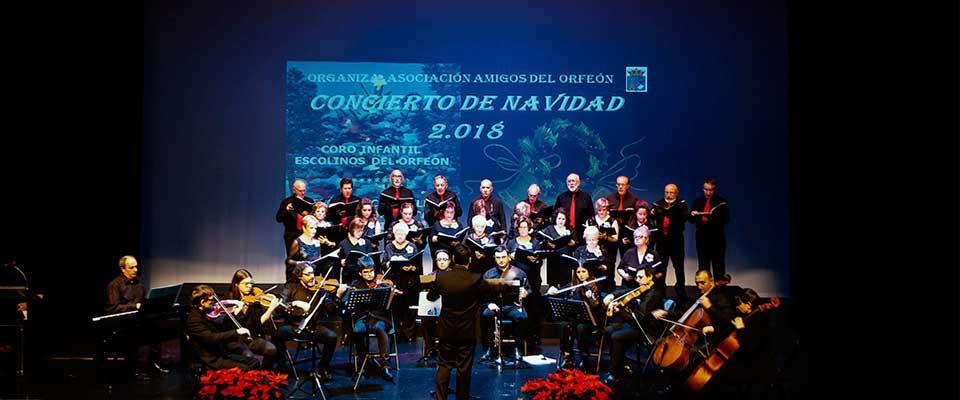 Concierto de Navidad Orfeón y Escolinos de Castrillón