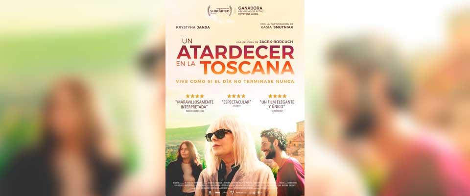 Cine. Un atardecer en la Toscana