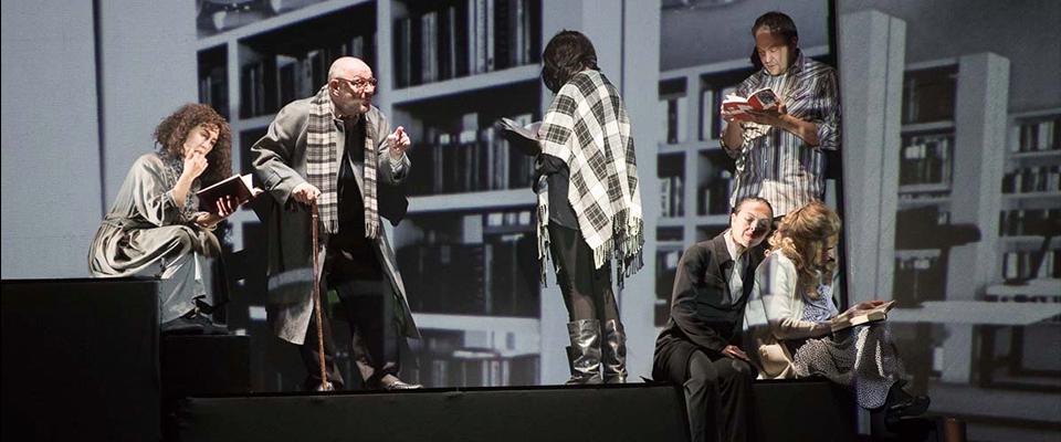 Teatro. Compañía Che y Moche: El Cielo sobre Berlín