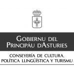 Logo Gobiernu del Principáu - en negro