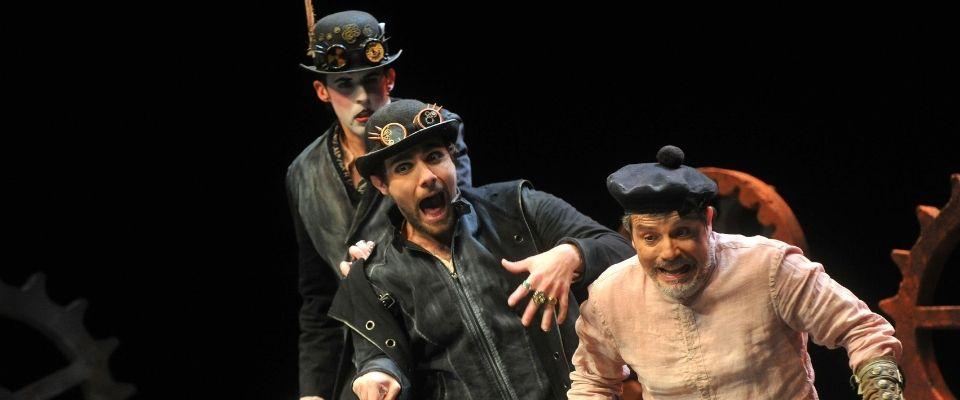 Teatro. A66 Producciones: Abre el ojo