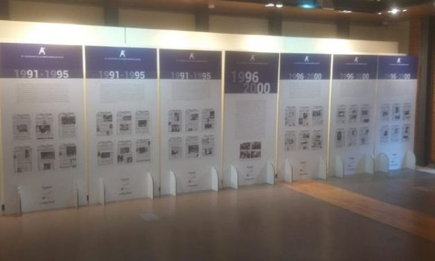 Exposición. 30º aniversario de LA NUEVA ESPAÑA de Avilés y Comarca en Portada